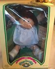 VINTAGE CABBAGE PATCH KID 1985 GIRL Brown Hair Ponytail Dimple Brown Eyes NiB