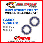 All Balls 25-1425 BMW G650X Country 2006-2008 Front Wheel Bearing Kit