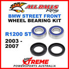 All Balls 25-1648 BMW R1200ST 2003-2007 Front Wheel Bearing Kit