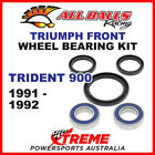 All Balls 25-1584 Triumph Trident 900 1991-1992 Front Wheel Bearing Kit