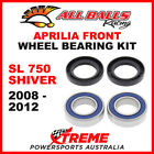 All Balls 25-1569 Aprilia SL750 Shiver 2008-2012 Front Wheel Bearing Kit