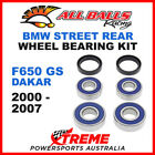 All Balls 25-1646 BMW F650GS F 650GS Dakar 2000-2007 Rear Wheel Bearing Kit