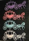 Tattered Lace Carriage Die Cuts Glittered Princess Set of Four
