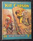 1950's? COWBOY COMICS #155 VG+ 4.5 Kit Carson UK 64 Picture Packes Pages Western