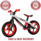 Chillafish BMXie RS BMX Balance Bike Airless Rubber Skin Tires Red Light my Fire