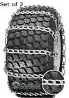 OPD tire chains (set of 2 ) 23x8.50-12 23x8.50x12 8X12 2-link with Tighteners