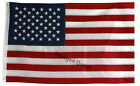 American Flag 3 x 5 Premium Embroidery Sewn 5 x 3 USA Stars Stripes US Deep Red