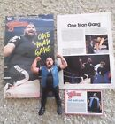 WWF Wrestling Superstar One Man Gang figure and Poster Titan Sports Inc 1987