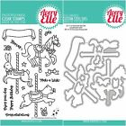 Avery Elle CAROUSEL Clear Stamps Only OR Clear Stamp and Die Bundle