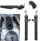 Watercraft Kayak Canoe Fishing Boat Rudder With Foot Braces Pedal Pegs Accessory