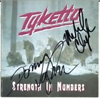 TYKETTO Strength in Numbers - DANNY VAUGHN & Michael Clayton CD Autograph SIGNED