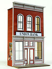 O SCALE On3 On30 On2 BANTA MODEL WORKS 6148 Union Bank FRONT ONLY