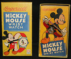 Ingersoll Mickey Mouse Vintage Disney Wrist Watch by US Time with Box 1950s