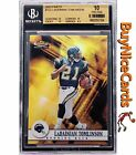 2001 Ladainian Tomlinson Topps Finest RC Rookie 1000 BGS 10 Pop 39