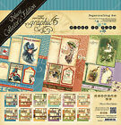 Graphic45 PLACE IN TIME DELUXE COLLECTORS EDITION scrapbooking CALENDAR