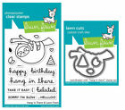Lawn Fawn Stamps OR Die Set Hang in There LF1311 Stamps OR LF1312 Dies
