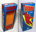 MEGO THE HUMAN TORCH 8 WGSH WINDOW BOX FANTASTIC FOUR MARVEL COMICS