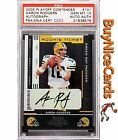 2005 Aaron Rodgers Playoff Contenders RC Rookie Auto #101 PSA 10 Great Auto