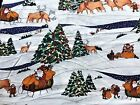 Cotton Quilt Fabric Christmas The Alexander Henry Collection by 1 2 Yard