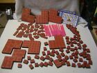 Huge Amount Of New Rubber Stamps Foam Backed  Unmounted Stickers  Used Pens