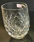 ONE WATERFORD POWERSCOURT 9 OZ. TUMBLER  EXCELLENT OR BETTER  SIX AVAILABLE