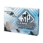 2016-17 Upper Deck SP Game Used Hockey Hobby Box