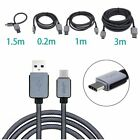 USB C 31 Type C Data Sync Charger Cable for Nexus 5X 6P OnePlus 2 3 Macbook Hot