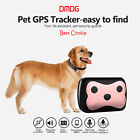 Personal Dog Cat Collar Pet ID Locator GPS Tracker GSM Tracking Loss Prevention