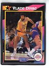 1992  VLADE DIVAC - Kenner - Starting Lineup Card - LOS ANGELES LAKERS