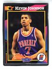 1992  KEVIN JOHNSON - Kenner - Starting Lineup Card - PHOENIX SUNS