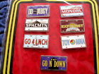 Disney  Attraction License Plates  7 Pin Booster Set New in Package