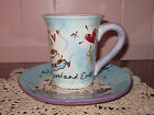 Julia Junkin Happy Marriage Cup & Saucer Gift Set