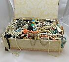 UNSEARCHED Huge Vintage Now Junk Jewelry Lot Over 13LBS Wear Craft Repair