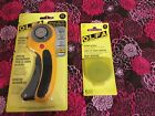 OLFA 45mm Rotary Cutter with five extra blades 2200 Free Ship