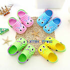 Unisex Kids Boys Girls Slip On Sandals Flats Beach Casual Jelly Shoes Slippers