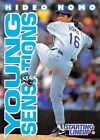 1996  HIDEO NOMO - Starting Lineup Card - LOS ANGELES DODGERS - (Gray)