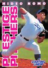 1996  HIDEO NOMO - Starting Lineup Card - LOS ANGELES DODGERS - (White)
