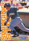 1996  EDGAR MARTINEZ - Starting Lineup Card - SEATTLE MARINERS