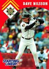 1995  DAVE NILSSON - Starting Lineup Card - MILWAUKEE BREWERS