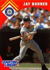 1995  JAY BUHNER - Starting Lineup Card - SEATTLE MARINERS