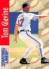 1997  TOM GLAVINE - Starting Lineup Card - SLU - ATLANTA BRAVES