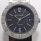 BVLGARI Stainless Steel Automatic Date Watch BB38SS #BX3-BVGW6013