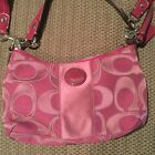 Great Condition HOT PINK COACH HANDBAG MUST SEE