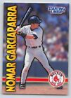 1999  NOMAR GARCIAPARRA - Starting Lineup Card - SLU - BOSTON RED SOX
