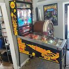 WILLIAMS 1987 BIG GUNS Pinball Machine EXCELLENT WORKING CONDITION! FULL LEDs