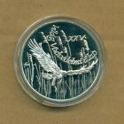 HUNGARY - 1988 500 Forint SILVER PROOF - 25th Anniv. of World Wildlife Fund