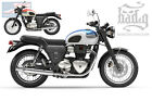 Triumph Bonneville T100 T120 Throw Under Seat Cover Bags - TTU01 BAD