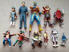11 MIXED LOT ACTION FIGURESMATCH BOX CAPTAIN TROY TEMPESTSTING RAY + 10 MORE