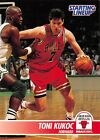 1995  TONI KUKOC - Kenner Starting Lineup Card - SLU - CHICAGO BULLS