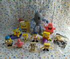 12 Piece Spongebob Squarepants Toy Lot Figures w Imaginext Plankton Robot